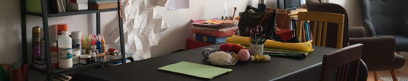 Art-thérapie – atelier de Magali Luzé